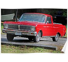 Stolen Red Pickup #3 Poster