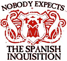 Spanish Inquisition - T Shirts, Stickers and Other Gifts by zandosfactry