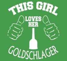 This girl loves her goldschlager by prav0989