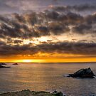 Newquey Sunset by Simon Marsden
