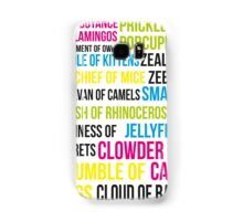Animal Groups Samsung Galaxy Case/Skin