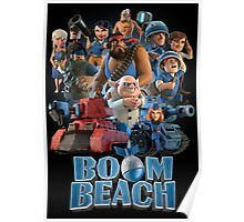 BOOM BEACH - ALL CHARACTERS Poster