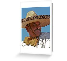 El Charro Greeting Card
