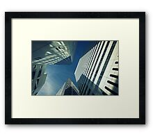 Waltz of the Giants (Coloured Version) Framed Print