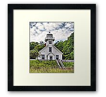 Old Mission Point Lighthouse Framed Print