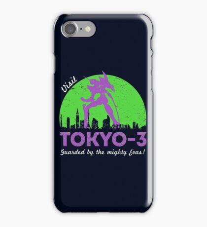 Visit Tokyo-3 iPhone Case/Skin