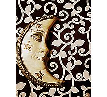 Moon pearl Photographic Print
