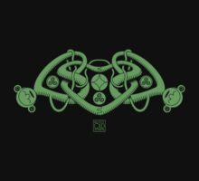 Celtic Triple Heart Kids Clothes