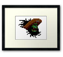 LeChuck - 8 bit Framed Print