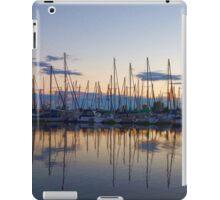 Yachts and Sailboats - Lake Ontario Impressions iPad Case/Skin