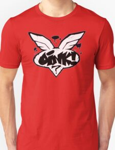 Flying Oink! Graffiti Logo Unisex T-Shirt