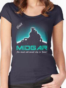 Visit Midgar Women's Fitted Scoop T-Shirt