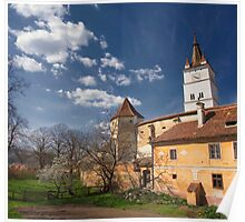 Harman Fortified Church  Poster