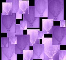 Mauve balloons by cathyjacobs