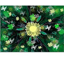 THE SIGN OF SPRING IS THE COLOR GREEN Photographic Print