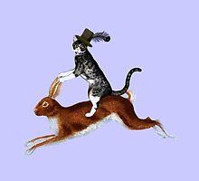 Cat Hare by FlaminCatDesign