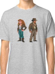 Indiana Jones - pixel art Classic T-Shirt