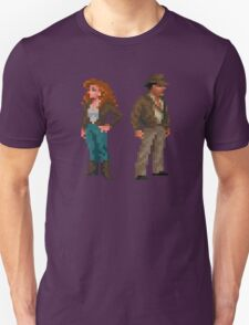 Indiana Jones - pixel art Unisex T-Shirt