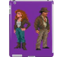 Indiana Jones - pixel art iPad Case/Skin