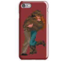 Indiana Jones - pixel art iPhone Case/Skin