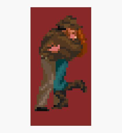Indiana Jones - pixel art Photographic Print