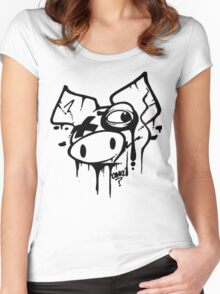 Oink! Drips.. Women's Fitted Scoop T-Shirt
