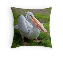 A Wonderful Bird is the Pelican... Throw Pillow