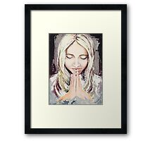 A Prayer... Framed Print