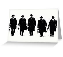 Gangster in New York Greeting Card