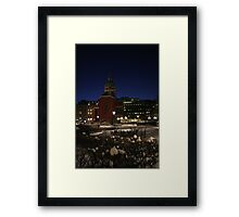 Red Church (Stockholm, Sweden) Framed Print