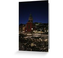 Red Church (Stockholm, Sweden) Greeting Card