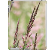 Pink Grass Abstract iPad Case/Skin