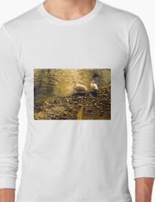 Two Duckies Long Sleeve T-Shirt