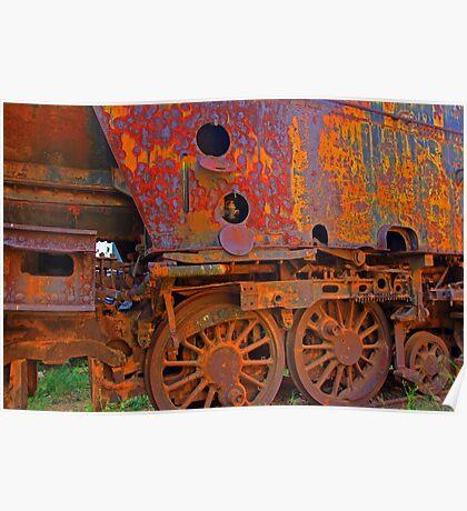 Rusty crusty Poster