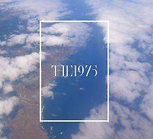 clouds and sea with the 1975 logo by Theorgasmic1975