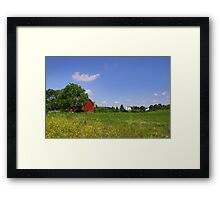 Barn And Farm Framed Print
