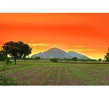 Indian landscape Photographic Print
