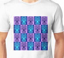 Purple Skull Fantasy Unisex T-Shirt