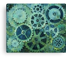 Used Parts Canvas Print