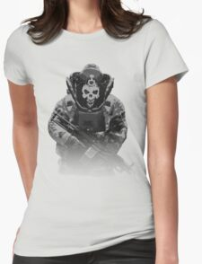 Payday 2, Pixel Skulldozer Womens Fitted T-Shirt