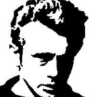 James Dean - pixel art by galegshop