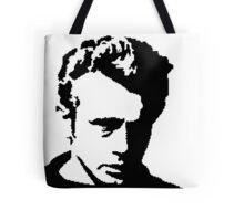 James Dean - pixel art Tote Bag
