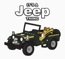 It's a Jeep Thing! Kids Tee
