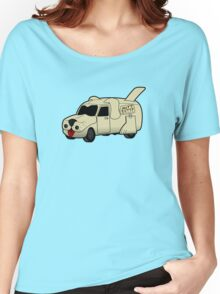 Mutt Cutts Van Women's Relaxed Fit T-Shirt