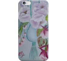Hanging Pot of Flowers iPhone Case/Skin