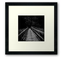 Are you ready for...The Dark Framed Print