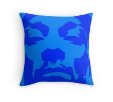 Snoop Dogg Blue Design Throw Pillow