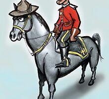 Canadian Mounty by Kevin Middleton