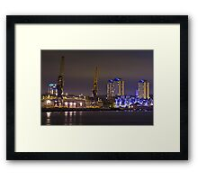 Port of Sunderland Framed Print