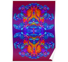 Abstract Reflections Poster